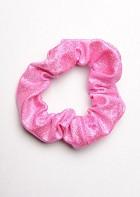 Haarwokkel wetlook metallic licht roze