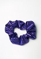 Haarwokkel wetlook paars/zilver
