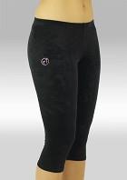 Gymnastikkbukser K754zw Legging 3/4 zwart velours