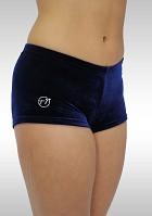 Hotpants legging donkerblauw velours K758ma