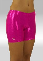 Legging kort wetlook roze W756rz