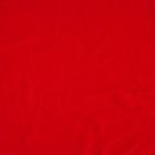 Glad velours panama per meter, rood