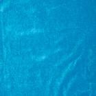 Glad velours panama per meter, turquoise